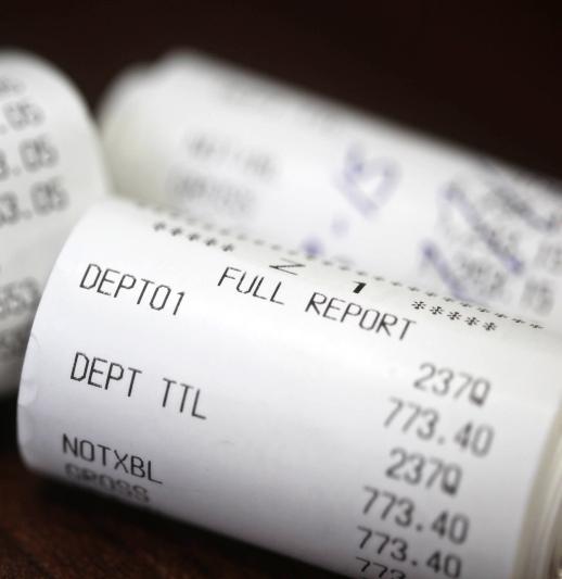 A receipt